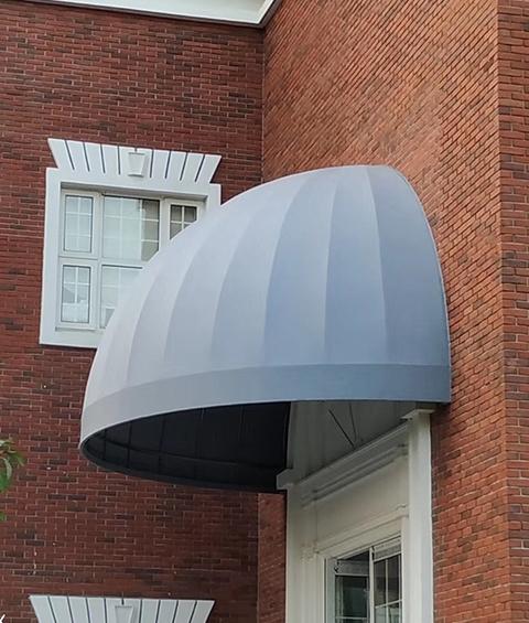 遮阳蓬厂家法式固定雨蓬